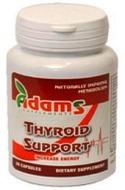 Imaginea suplimentului Adams Thyroid Support pentru buna functionare a glandei tiroidiene